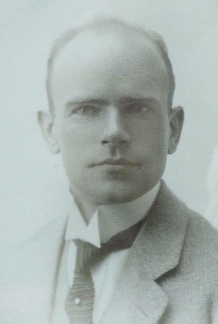 Derk Hoek omstreeks 1918