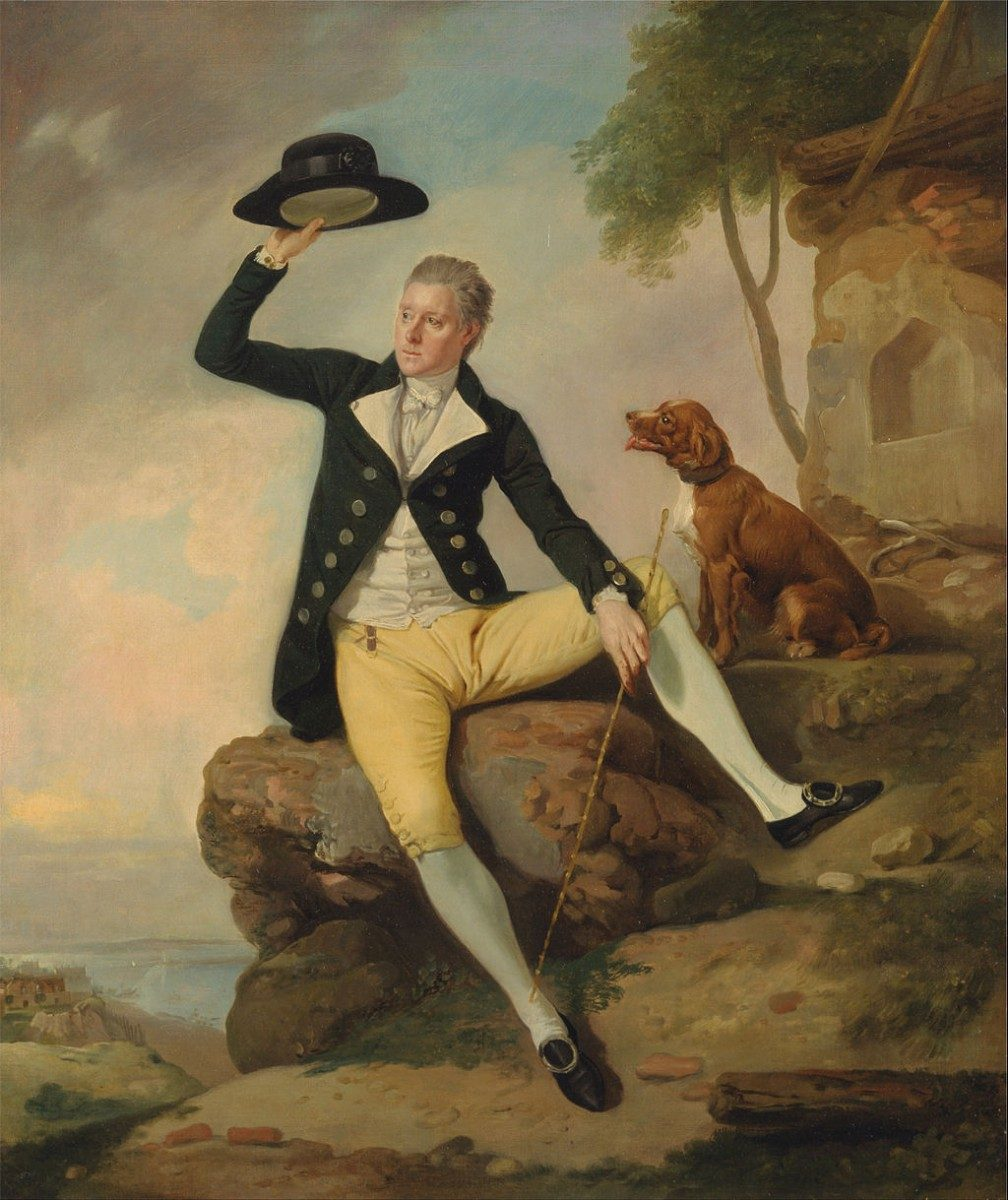 J.J. Zoffany, Patrick Heatly (c. 1785). Coll. Yale Center for British Art.