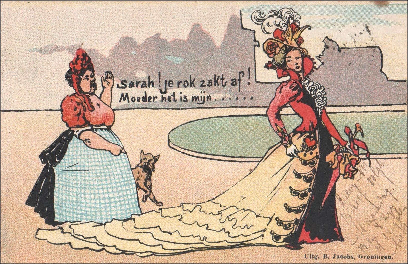 Briefkaart, poststempel 20 juli 1901, 's Gravenhage