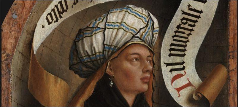 Jan van Eyck, Sibylle van Cumae (detail)