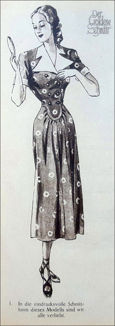 Model uit Der goldene Schnitt, 1949